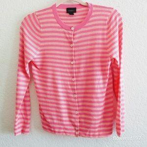 J Crew Italian Cashmere Cardigan Size Medium